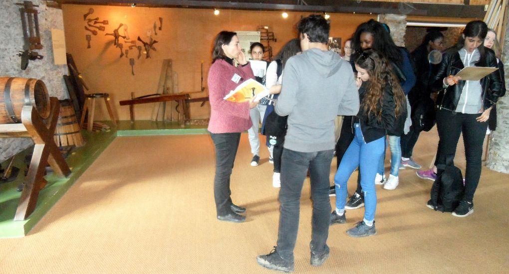 La visite du Musée ,avec des petits questionnaires qui ont donné lieu pour certains à une véritable compétition digne d'un jeu télé !
