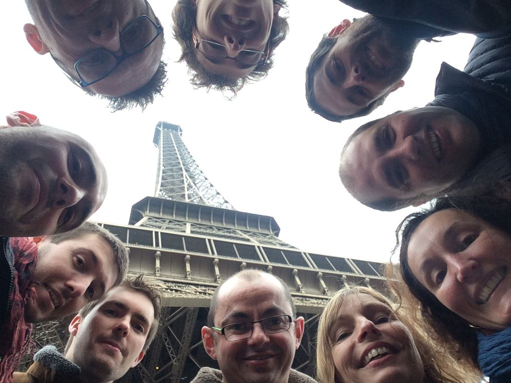 Un tour à la Tour Eiffel