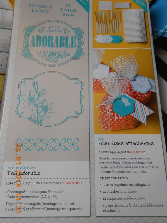 Les promotions chez Stampin'up