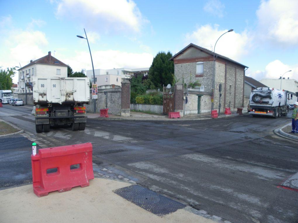 Boulevard Victor Hugo : Réfection de la chaussée