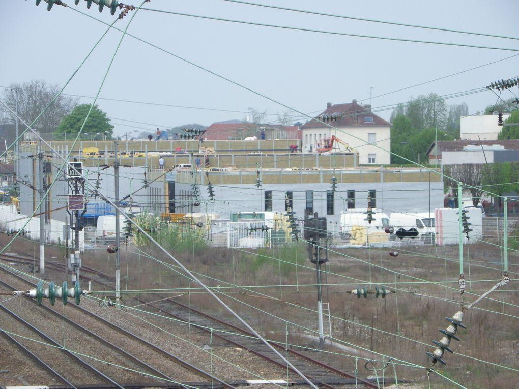Crépy en Valois : Les travaux du cinéma avril 2013