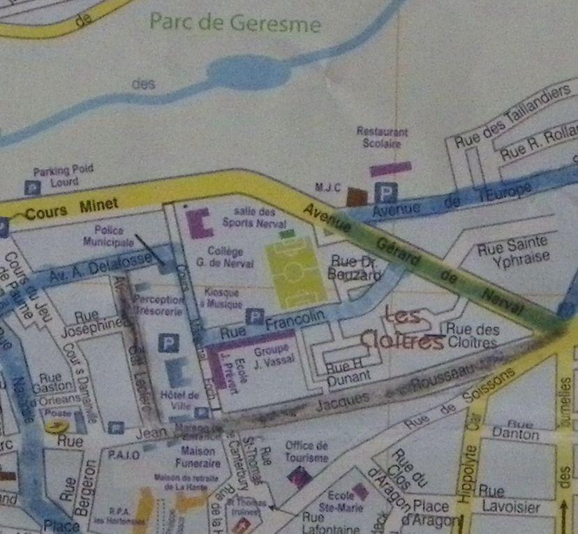 Crépy en Valois : Le cours Foch
