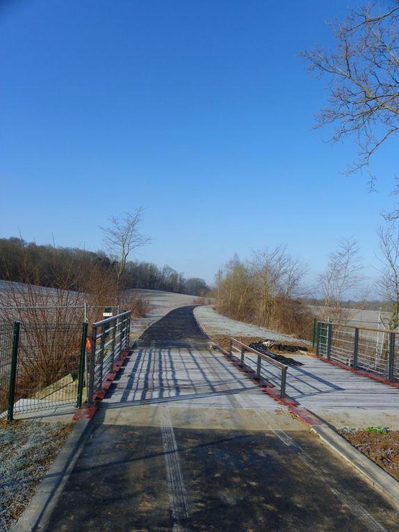 La voie verte : La situation des travaux