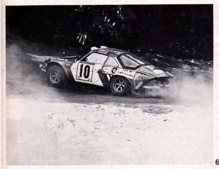 Renault Alpine A110, 1800 - Jabouille / Rives - Rallye Bandama 1973...