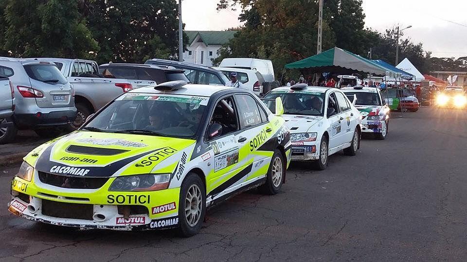 Encore une victoire pour Gary Chaynes Rallye N'Zi Dimbobro.....
