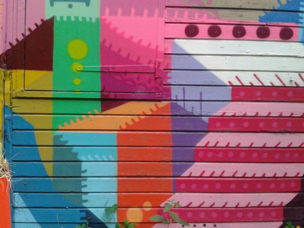 In Situ Art Festival - Street Art au Fort d'Aubervilliers