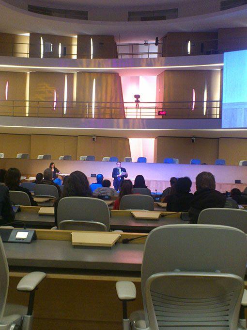 La soirée des 10 ans de La Caravane des 10 mots, au Conseil Régional.