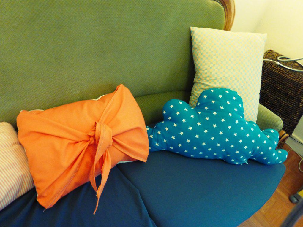 DIY: Le coussin aux couleurs pop