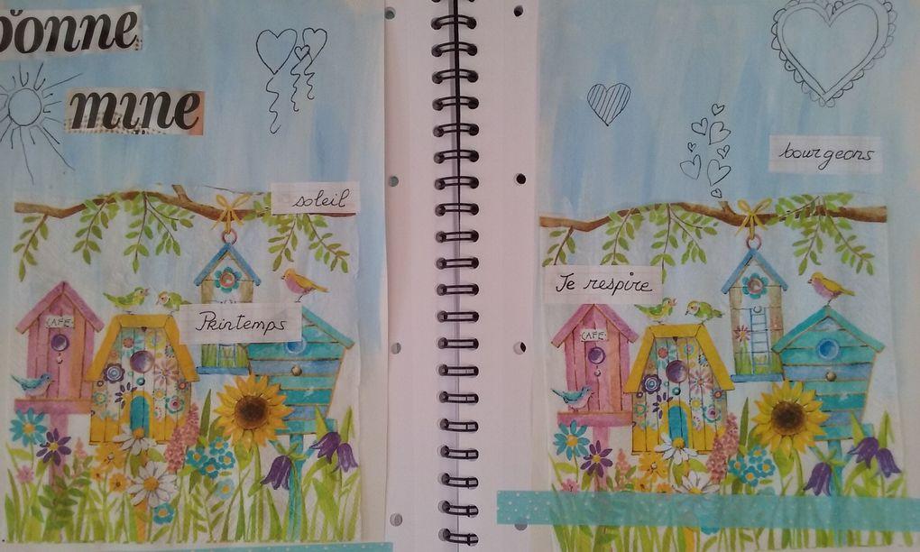 page sur Frida  kahlo,le printemps.
