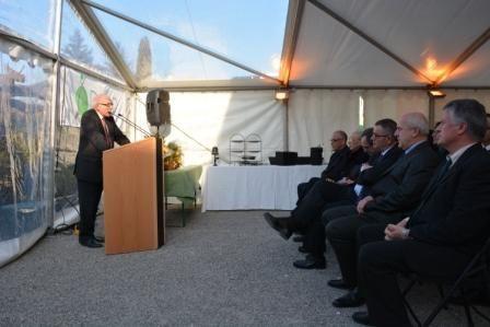 Inauguration de l'extension du siège ADMR 13 et de la crèche ADMR Dorémi.