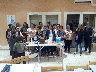 L'ADMR Graveson à organisé un repas convivial pour la rentrée ADMR