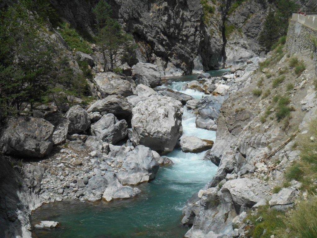 Le Guil, une rivière torrentielle qu'affectionnent les amateurs de sport en eau vive !