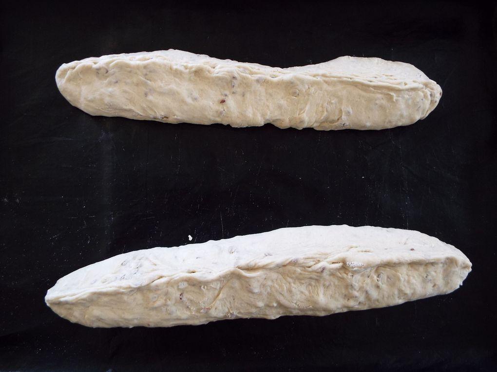 Recette baguettes graines avec H.KOENIG HKM 1028.