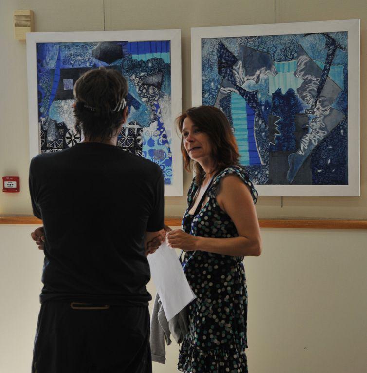 Exposition les &quot&#x3B; Arts YS tes &quot&#x3B; à la fête de St-Alban-les-Eaux