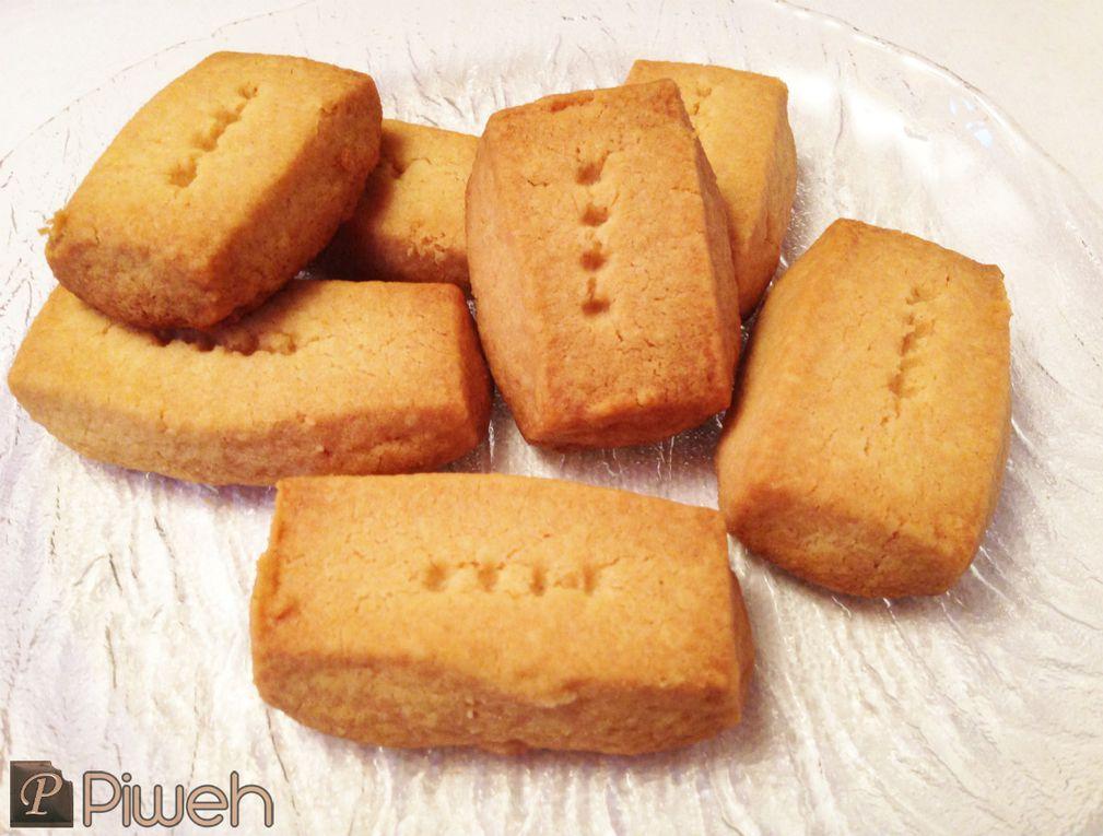 Sablés au beurre (Shortbreads)