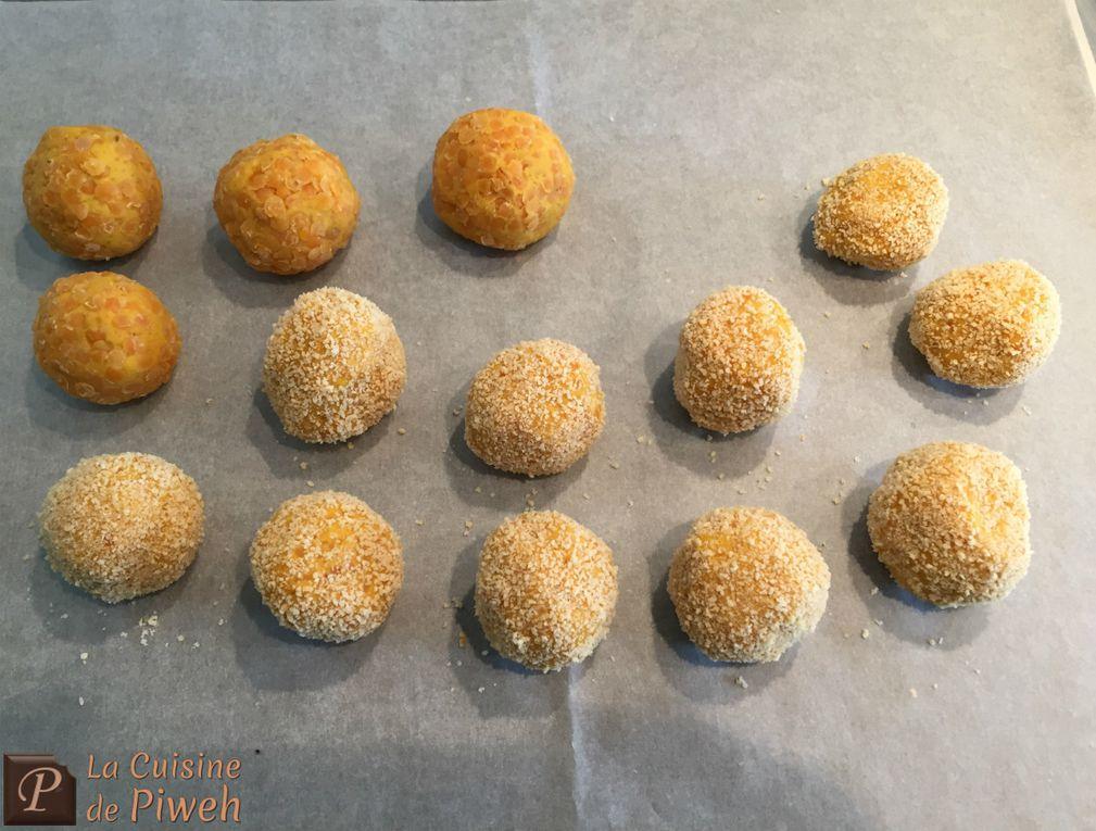 Boulettes de Lentilles à l'Indienne