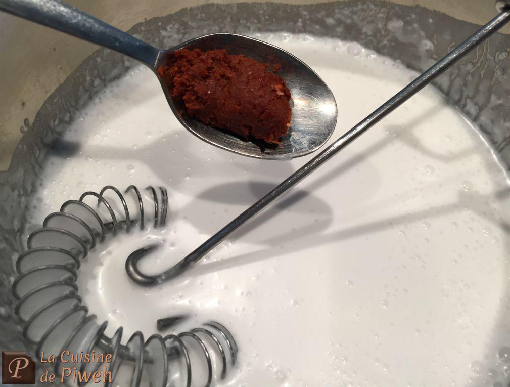 Crème Glacée au Curry Rouge