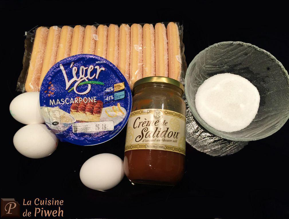 Tiramisù au Caramel au beurre salé (Salidou)