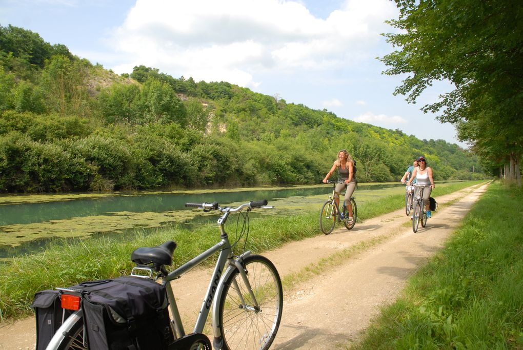 Diaporama - Tour de Bourgogne à vélo © Photos : Henry SALAMONE