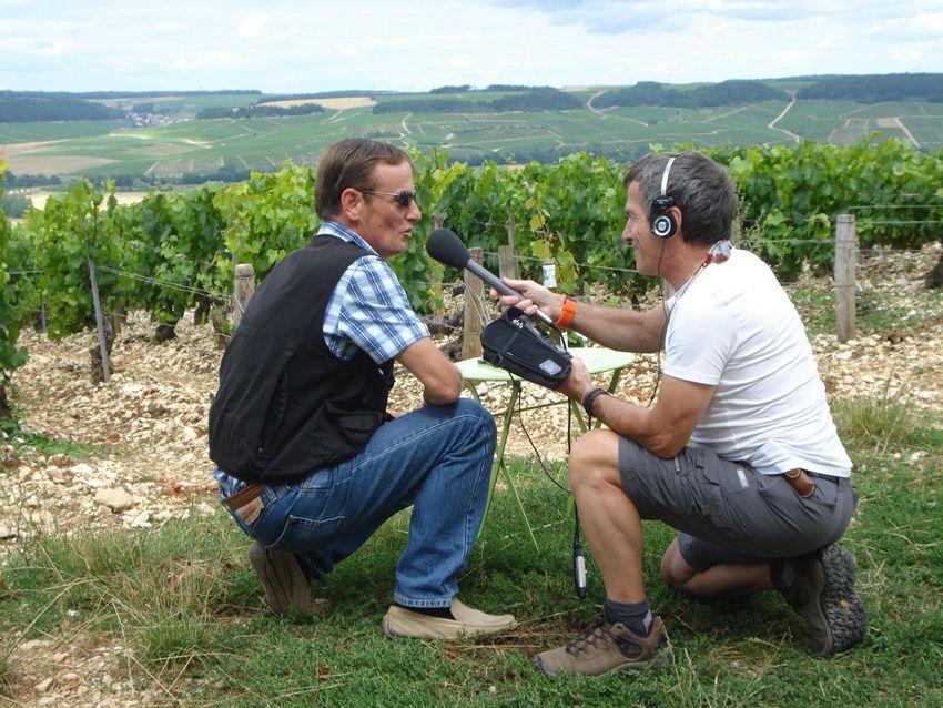 Franck Chrétien propose des visites guidées des vignobles et des domaines viticoles chablisiens - Diaporama © Photos Henry Salamone et Roselyne Blondel / Côté Loisirs Magazine