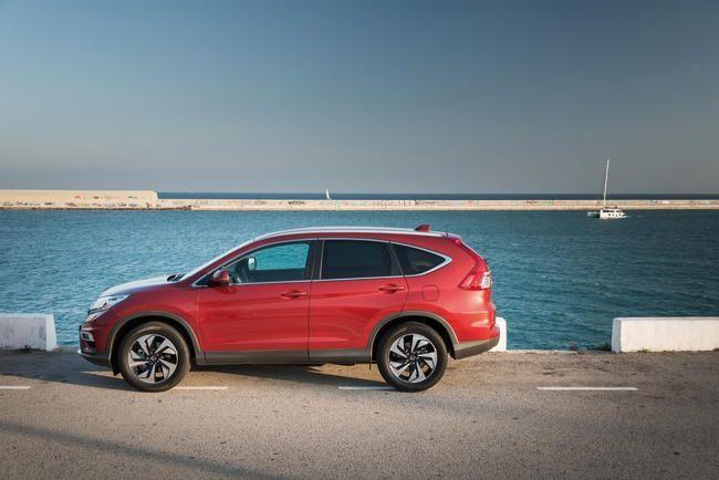La déclinaison 4 roues motrices du Honda CR-V 2015 pourra profiter d'une nouvelle motorisation diesel plus puissante ainsi que de la nouvelle –et très efficace- transmission automatique à 9 rapports. © Photos Service presse Honda