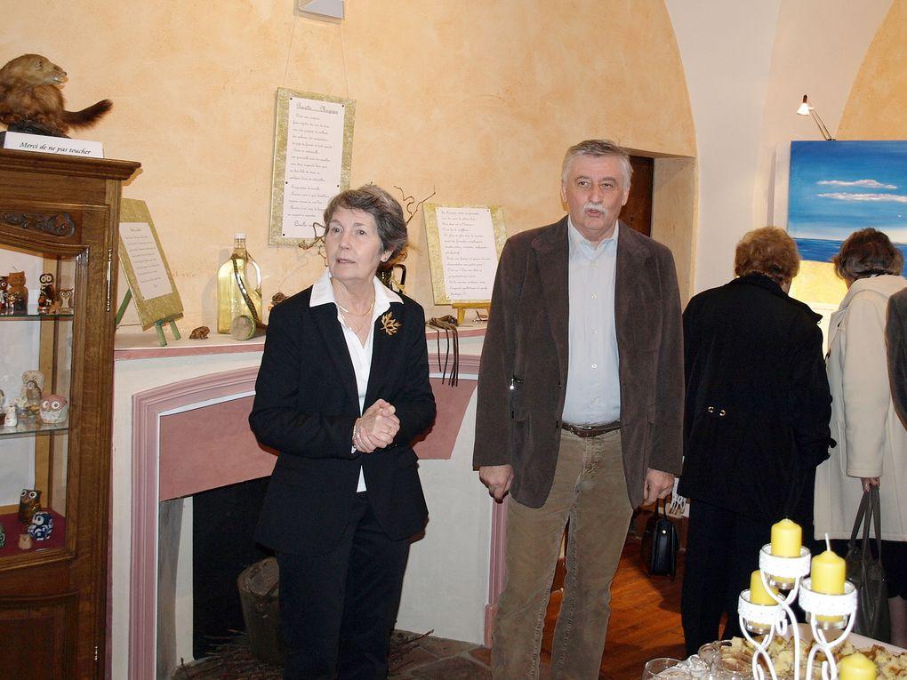 Les Amis de St André, une expo... avec médaille