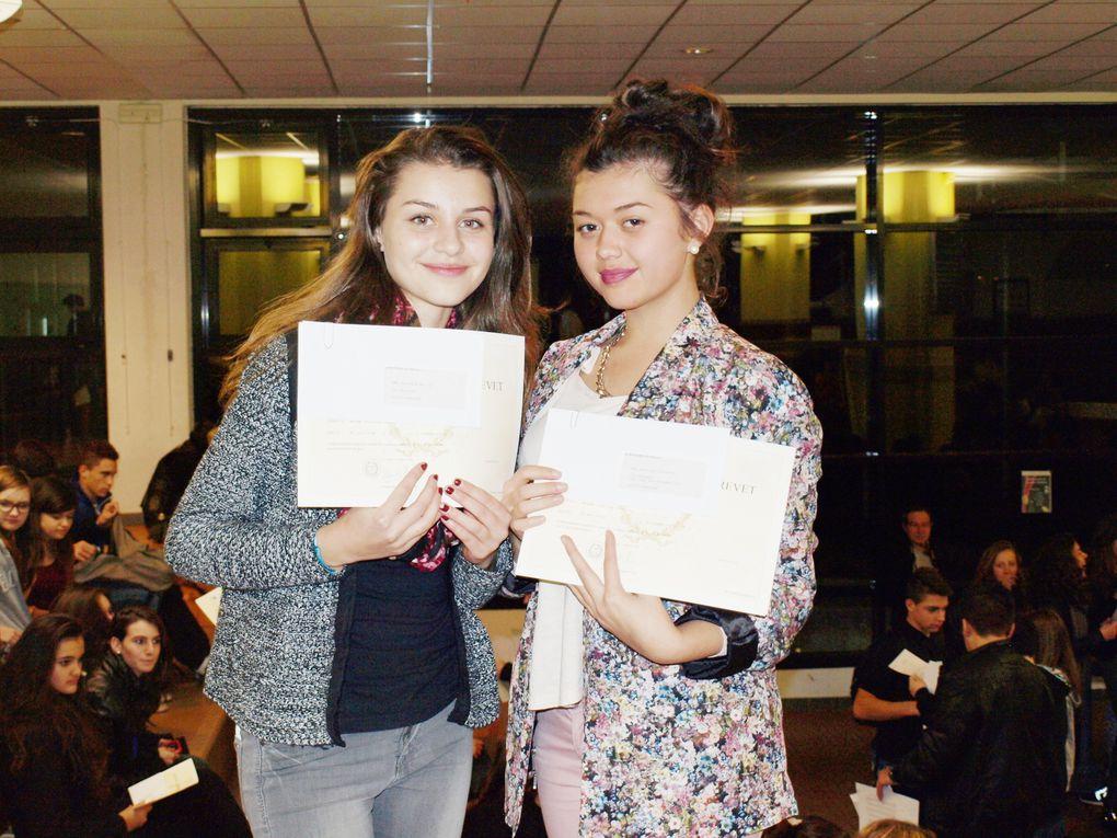 Les brevets 2014 au collège