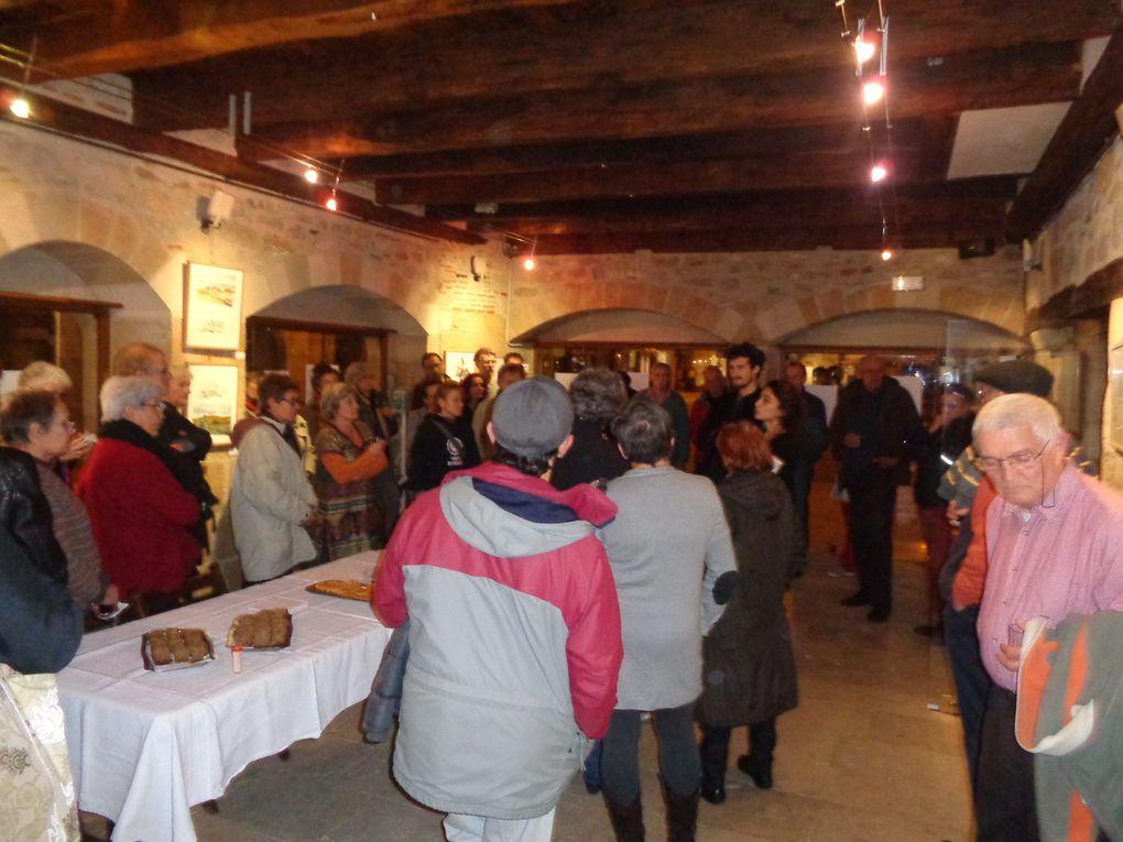 Victor Gurrey, Zoé Lamazou, soirée inauguration du 28 Novembre à la Maison des Consuls de Saint-Céré