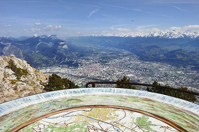 Ascension de la Moucherotte avec vue sur Grenobles et les sommets des 3 Pucelles