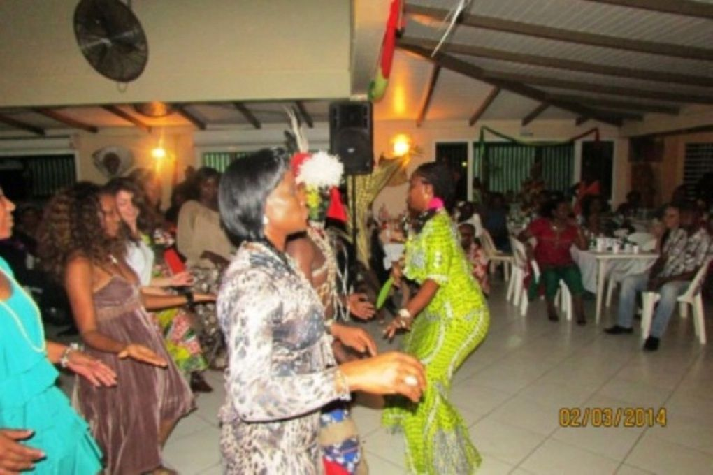 SOIREE CONGOLAISE DU 1 MARS 2014 AU RECEPT PLUS