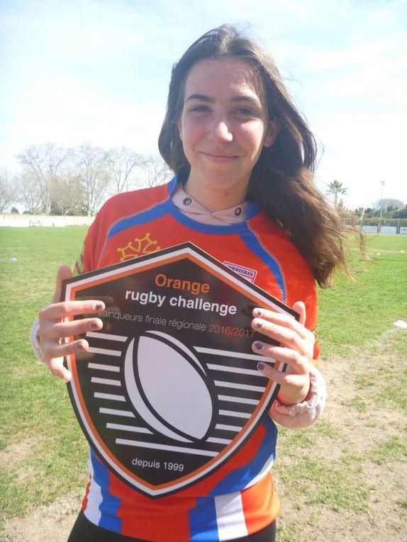 Victoire des féminines au Challenge Orange Régional