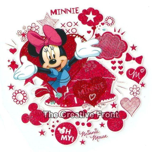 Transfert pour T-shirt ou pull Minnie et Mickey