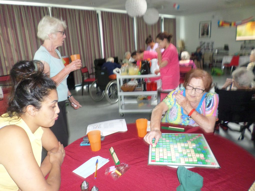 Gym douce Et Scrabble