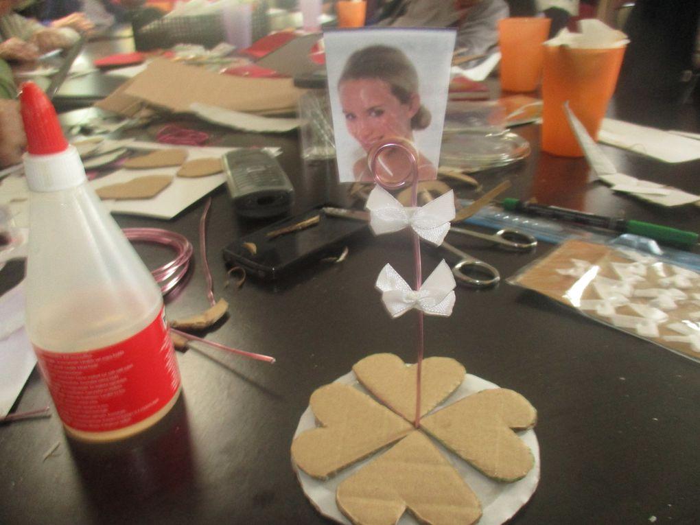 Atelier Créatif Fête des Mères: Porte Photo
