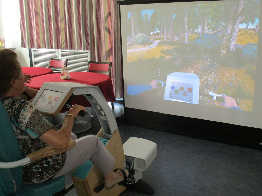 Atelier Cycléo, vélo virtuel !!!