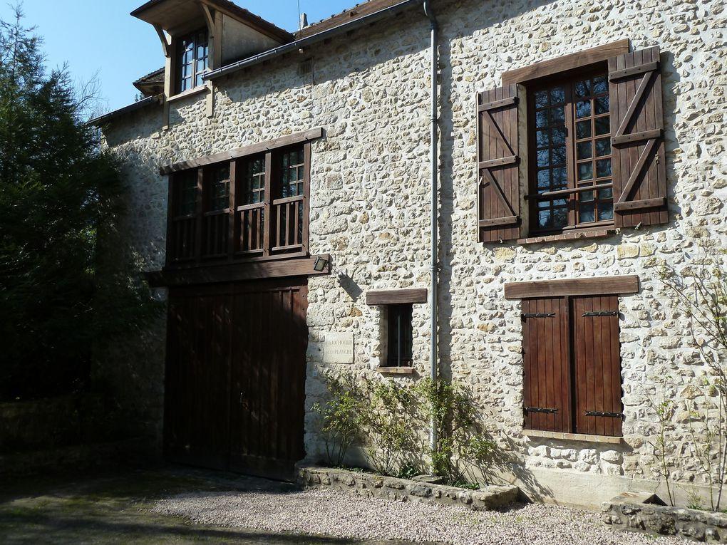 Lieu dit Courgent, le Vieux Moulin de la Planche sur la Vaucouleurs.