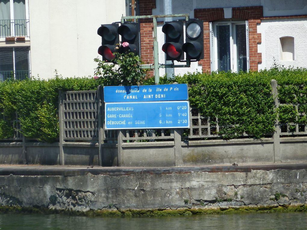 """Bonaparte demandant aux préfets Chaptal ce qu'il pourrait faire pour être agréable aux Parisiens, ce dernier lui répond """"Donnez-leur de l'eau"""". La cause est entendue et le décret du 19 mai 1802 régle définitivement le sort du canal de Paris. L'appellation """"les Canaux de Paris"""" ne doit pas faire oublier que ces trois ouvrages le canal Saint-Martin le canal Saint-Denis et le canal de l'Ourcq ne forment qu'un seul et même réseau géré par la Ville de Paris qui en a la propriété. Ce réseau était aussi destiné à l'origine à l'approvisionnement en blé, bois et pierres de la capitale. Il a été conçu, également afin de faciliter la jonction entre l'amont et l'aval de Paris. Il permet aux batelleries d'amont, celles de la Marne, de la Haute-seine et de l'Yonne de communiquer avec celles d'aval de Paris. La Basse-Seine et l'Oise, en évitant les difficultés de la traversée de la capitale. C'est à Vauban et à Colbert qu'est attribuée la première idée d'un canal de Paris. Deux projets, celui de l'ingénieur Jean-Pierre Bossu, approuvé par le Directoire, préfigurent le canal de l'Ourcq. Mais c'est à l'ingénieur Pierre-Simon Girard que Napoléon donne finalement sa préférence."""