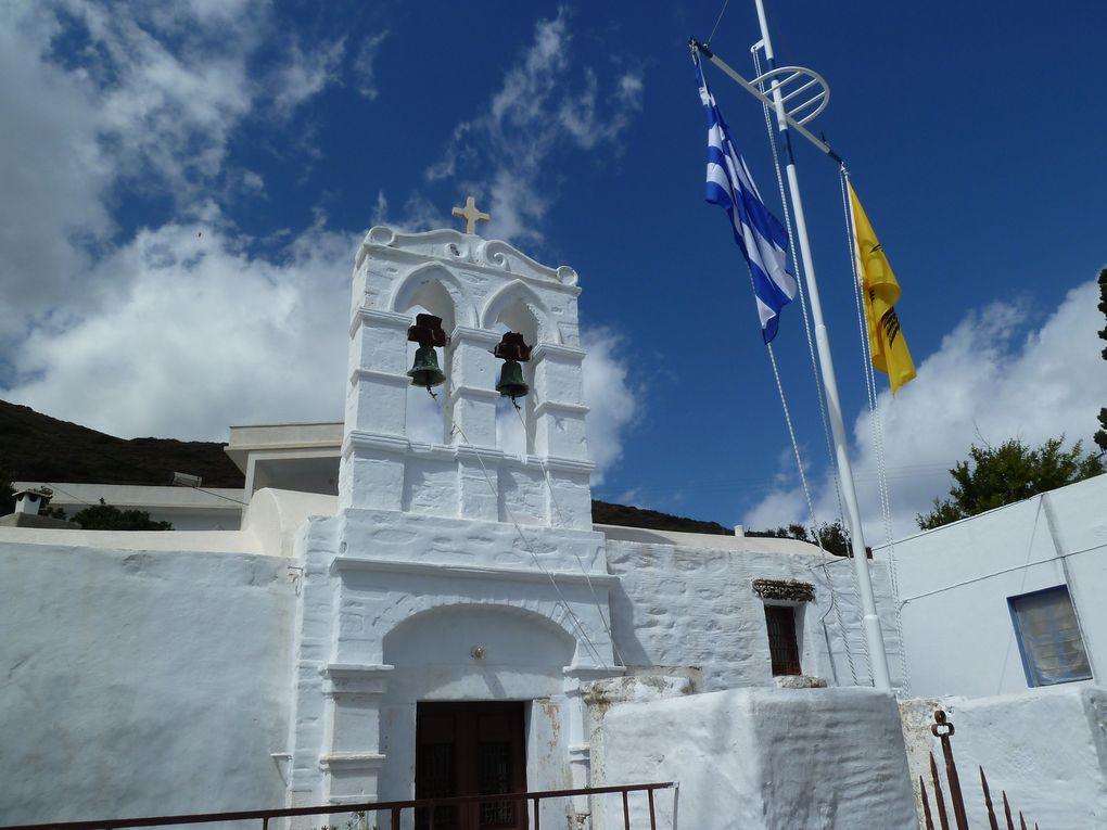 Tout comme la majorité des îles grecque, Amorgos possède de nombreuses églises : plus de 40 églises byzantines des XVIIème, XVIIIème et XIXème siècles.