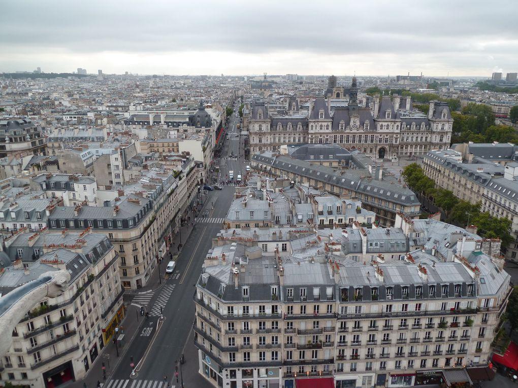 La sublime récompense, une vue sur Paris à 360°.