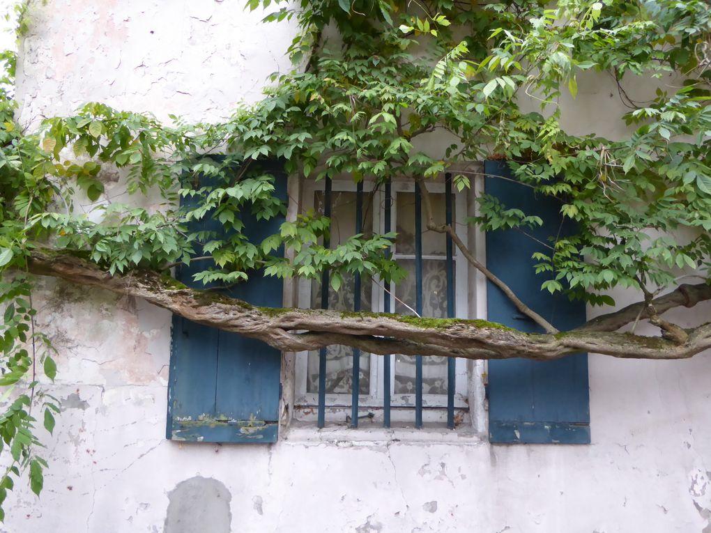 """Traversée du charmant """"bourg"""" de la Celle-Saint-Cloud."""