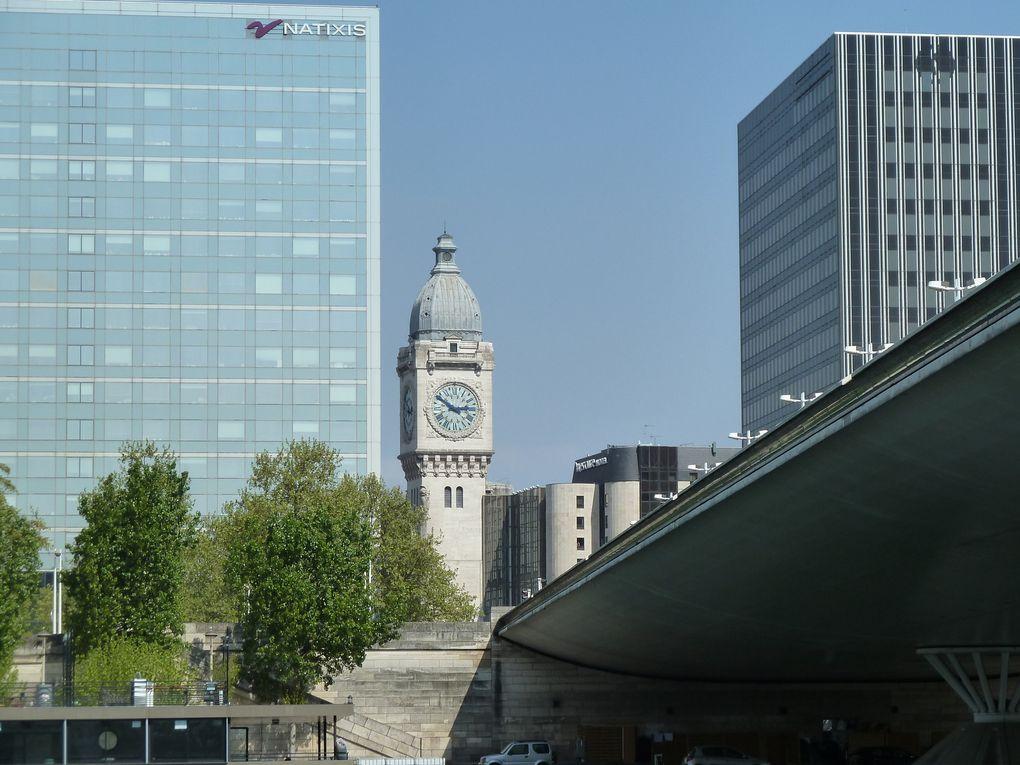 Démolition #Tour13, Gare de Lyon, Quai Saint-Bernard.