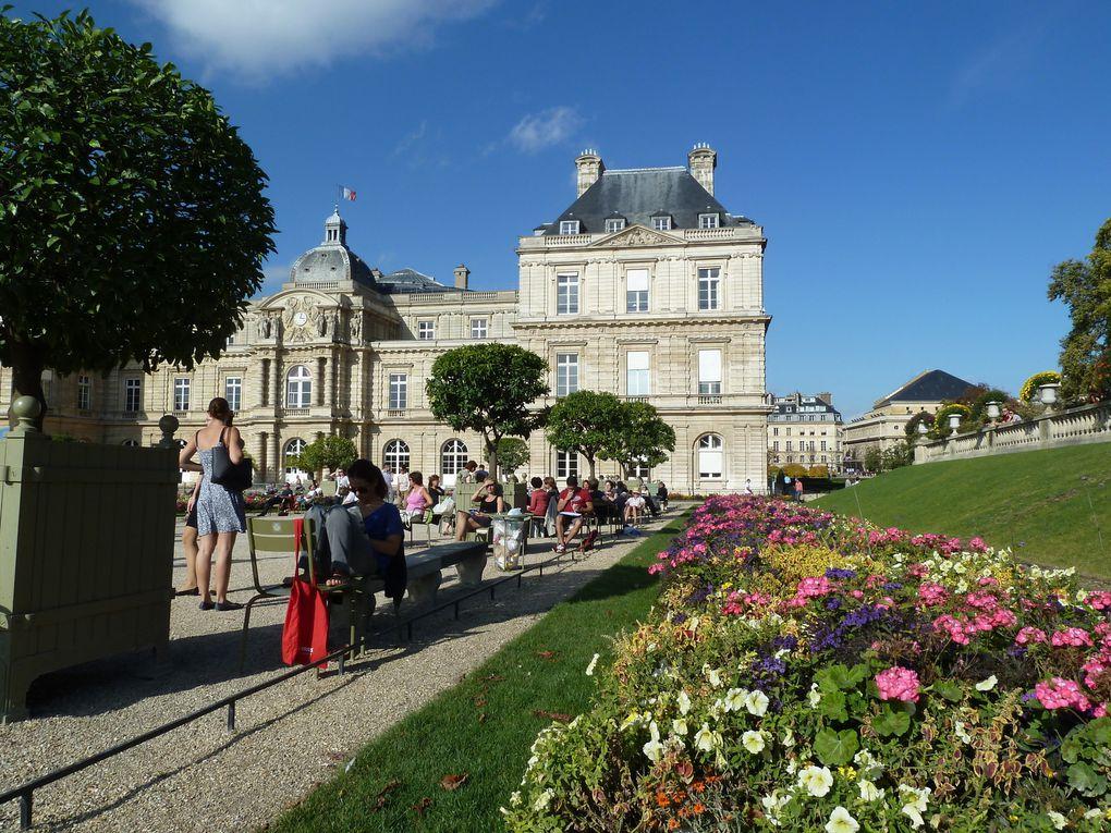 Le jardin du Luxembourg et le concert des Afreubos.
