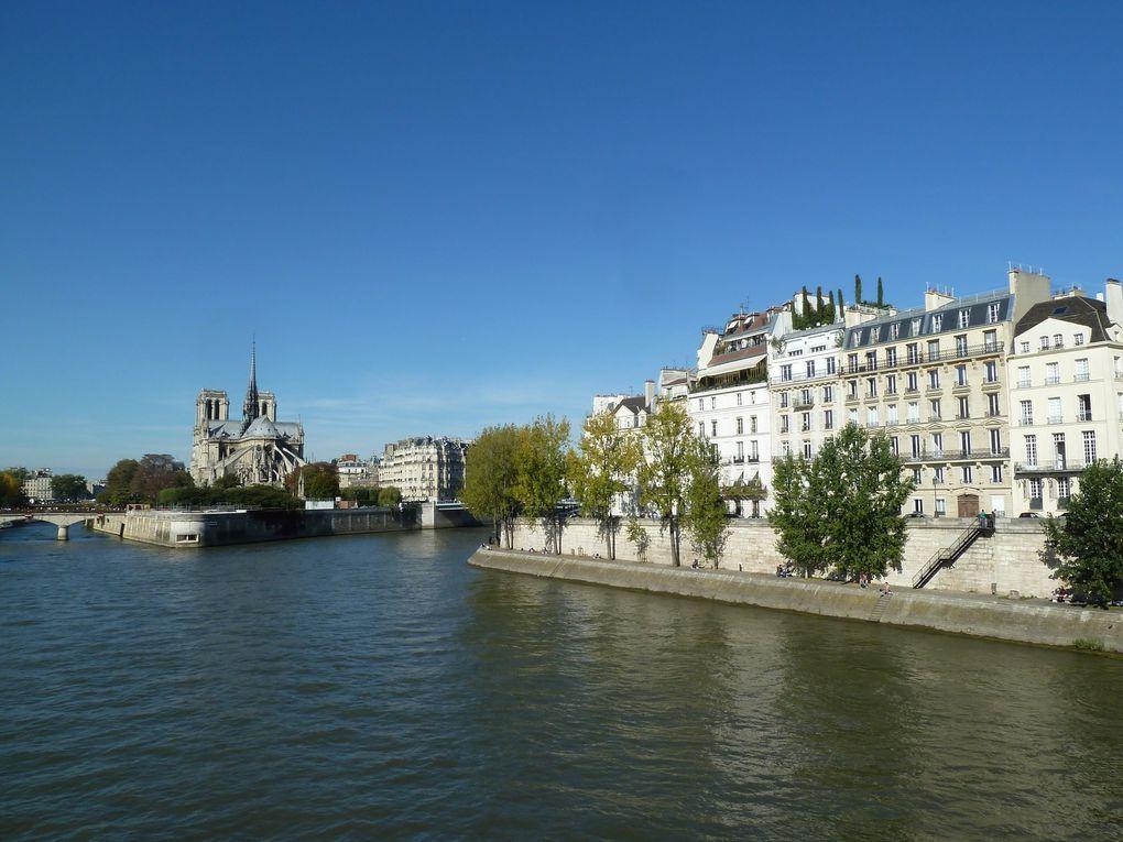 La Cité de la Mode et du Design (Docks en Seine), les bords de Seine jusqu'à Notre-Dame-de-Paris.