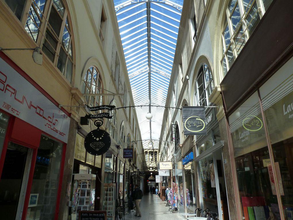 Passage Choiseul, le restaurant de Julien Duboué, le marché de la Place de la Bourse.