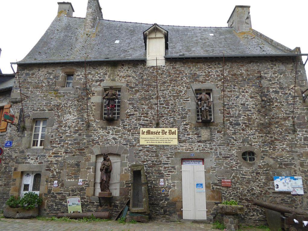 Randonnée de Dol-de-Bretagne à Cancale 25,8 km - 1/2.
