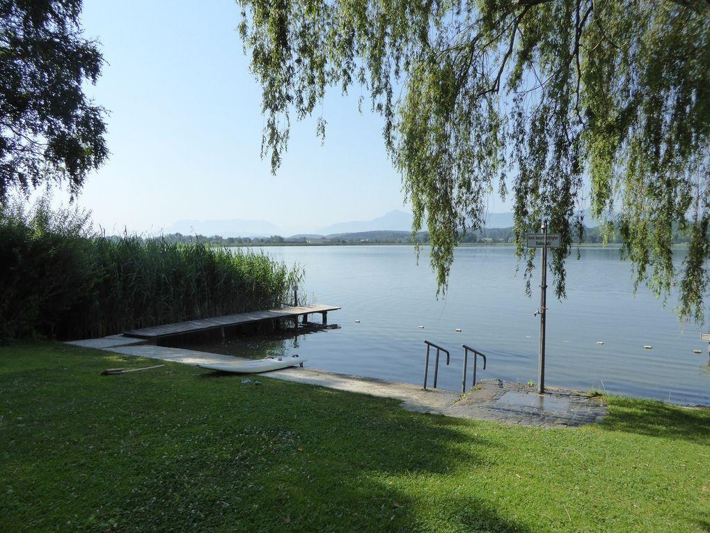 Petting et le lac de Waginger See - Allemagne été 2015.