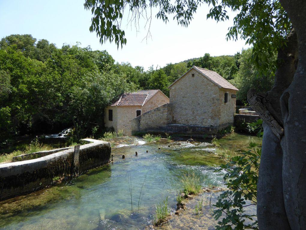 Parc National de Krka - Croatie été 2015.