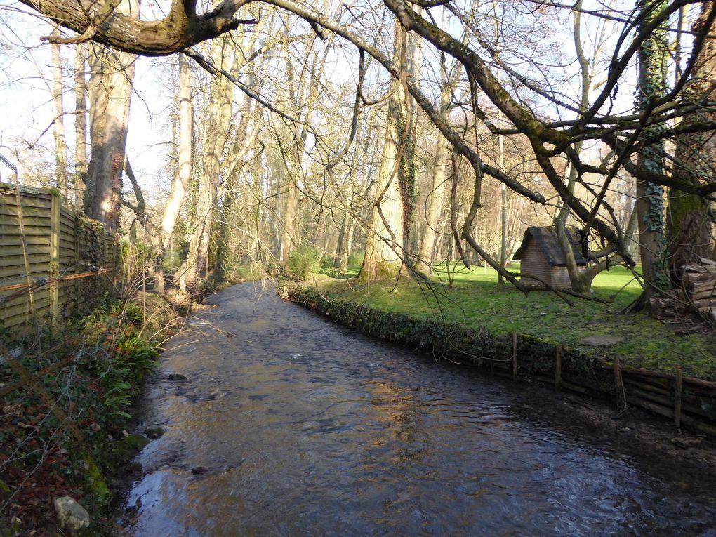 Randonnée en boucle de Neauphle-Villiers-Pontchartrain 17 km.