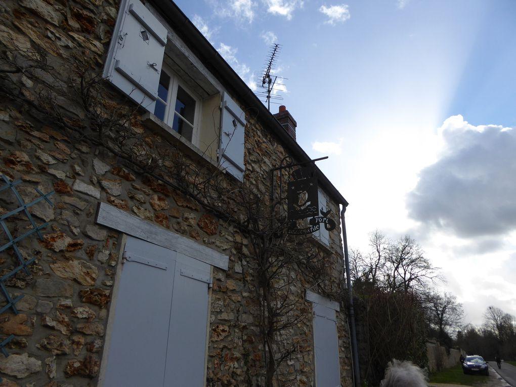 Randonnée en boucle de Cesson Seine-Port. 15,3 km.