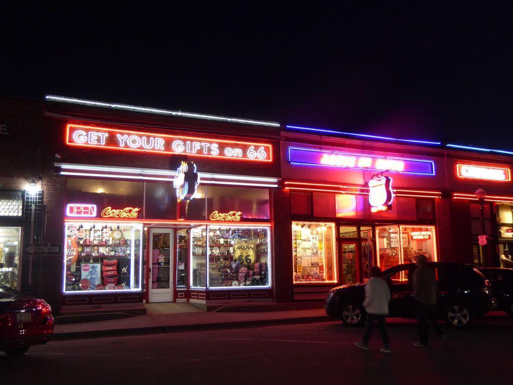 Ouest-Américain, Route 66 - Printemps 2016.